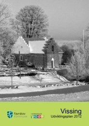 Klik og se udviklingsplan for Vissing - Favrskov Kommune