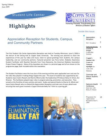 Highlights - Coppin State University