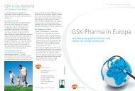 GSK Pharma in Europa (PDF 273 KB) - GlaxoSmithKline