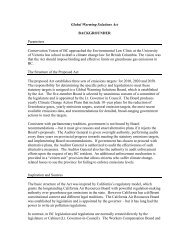 Briefing Note on A Climate Change Law For BC - The Environmental ...