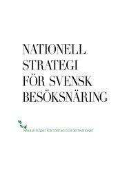 Här - Nationell strategi för svensk besöksnäring