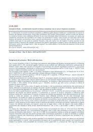 Conferimento incarichi Struttura Complessa: non si ... - SDS Snabi