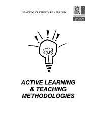 ACTIVE LEARNING & TEACHING METHODOLOGIES - PDST