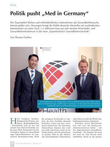 Ganzer Artikel - IEGUS • Institut für Europäische Gesundheits- und ...
