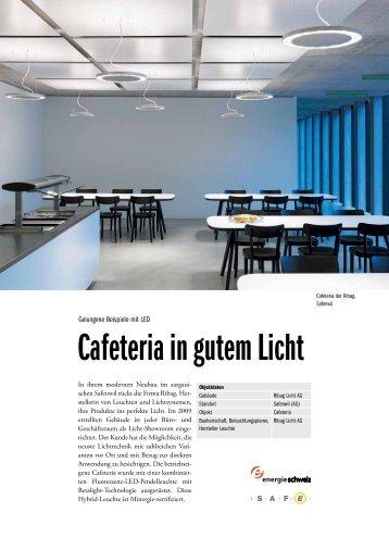 Gute Beispiele mit LED - Ribag Safewil (AG)