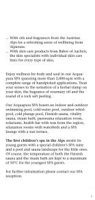 Massages - Falkensteiner - Page 5