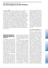 Die späte Diagnose der HIV-Infektion - hiv.ch