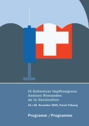 Programm /Programme - hiv.ch