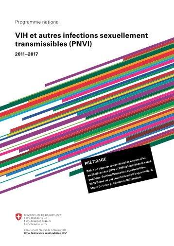 VIH et autres infections sexuellement transmissibles (PNVI) - hiv.ch