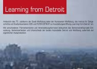 Learning from Detroit - Wolfsburg