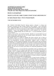 """Presentación del Libro """"Padres e Hijos"""" - Facultad de Psicología ..."""