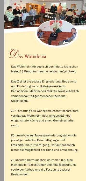 Flyer Wohnheim (348KB) - Haus Elisabeth Bohmte