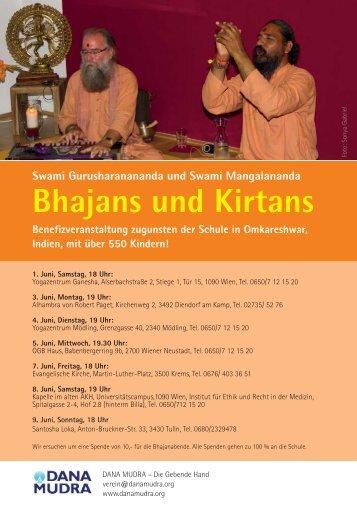Swami - Flyer - Zur Website von Yogazentrum Mödling