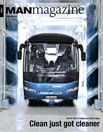 MANmagazine Bus edition 1/2014