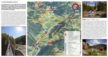Talrundweg Kals am Grossglockner - Download brochures from ...