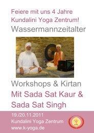 mit Sada Sat Kaur - Kundalini Yoga Zentrum München