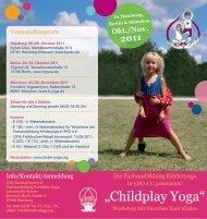 """Childplay Yoga"" - Kundalini Yoga Zentrum München"