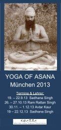 Flyer zum Herunterladen als pdf. - Kundalini Yoga Zentrum München