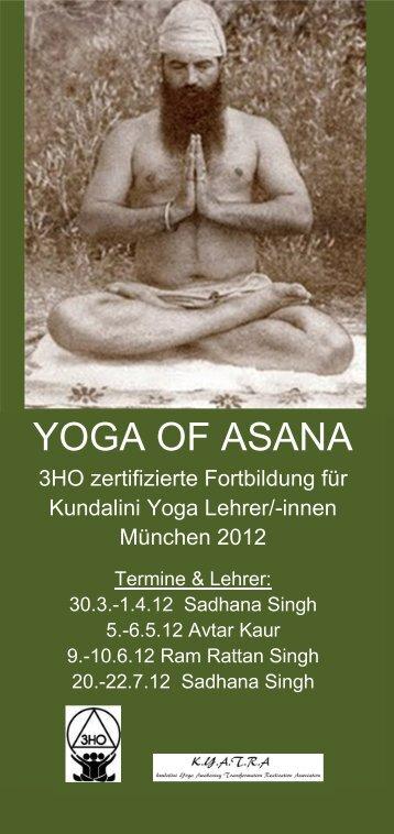 Flyer zum Herunterladen als pdf - Kundalini Yoga Zentrum München