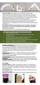 Flyer zum Herunterladen als pdf - Kundalini Yoga Zentrum München - Seite 2