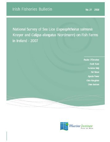 No31 Irish Fisheries Bulletin.pdf - Marine Institute Open Access ...