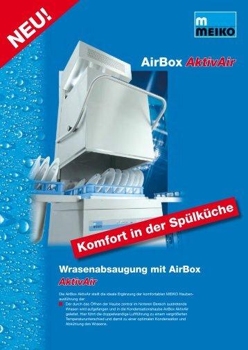 Komfort in der Spülküche AirBox AktivAir