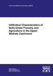 Infiltration Characteristics of Soils Under Forestry and Agriculture in ...