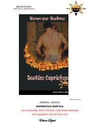 Leer capítulo uno - Universo Romance, el Portal