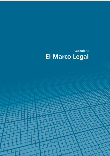 El Marco Legal - Resdal