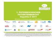 Ergebnisse Hepatitis C Patientenbericht - Österreichischer ...