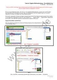 Tutorial: Digitale Bildbearbeitung - Grundsätzliches - Ahano.de