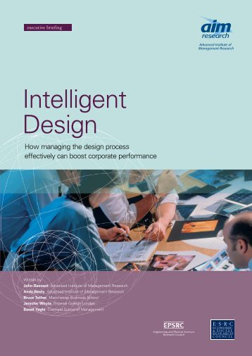 Intelligent Design - (AIM) Research