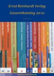 Gesamtkatalog 2010 Ernst Reinhardt Verlag