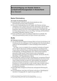 Berücksichtigung von Sozialer Arbeit in ... - Ernst Reinhardt Verlag