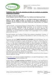 Persbericht Open Dagen bij maatschap de Bruin in ... - Melkveebedrijf