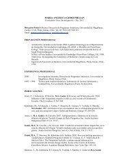 Descargar curriculum en PDF - Universidad de Magallanes