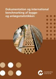 Dokumentation og international benchmarking af bygge - Danmarks ...