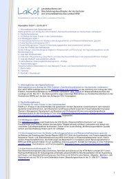 Newsletter Nr. 5/2011 - LaKof NRW