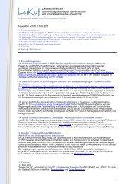 Newsletter Nr. 3/2011 - LaKof NRW