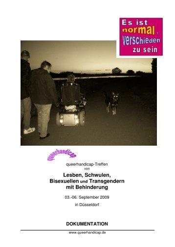 Lesben, Schwulen, Bisexuellen Und - Queerhandicap.de