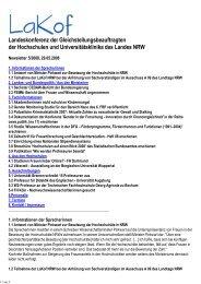 Newsletter Nr. 05/2008 - LaKof NRW