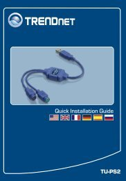 TU-PS2 Quick Installation Guide - TRENDnet
