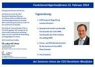 Martfelder Schlossgespräche - Senioren-Union NRW