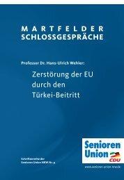 Zerstörung der EU durch den Türkei-Beitritt - Senioren-Union NRW