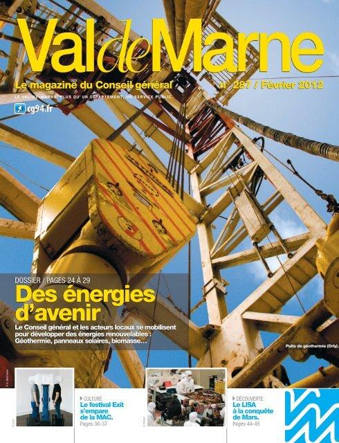 ValdeMarne n°287 / Février 2012 - Conseil général du Val-de-Marne