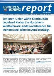 die komplette Ausgabe - Senioren-Union NRW