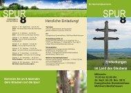 8 8 SPUR SPUR - Evangelische Kirchengemeinde Empfingen