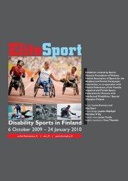 Disability Sports in Finland - Urheilumuseo