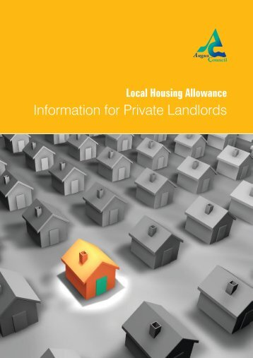 Information for Private Landlords - Angus Council