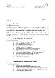"""""""Grundlagen der Kontrazeption"""" """"Grundlagen der ... - Bvf-saarland.de"""